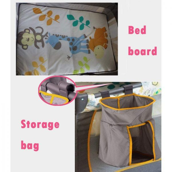 Newbabywish Deluxe Playard with Carry Bag