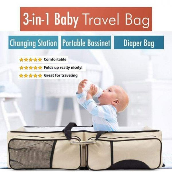 Newbabywish 3-in-1 Universal Baby Travel Bag