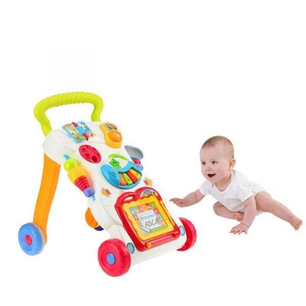 Newbabywish Multifuctional Baby Walker