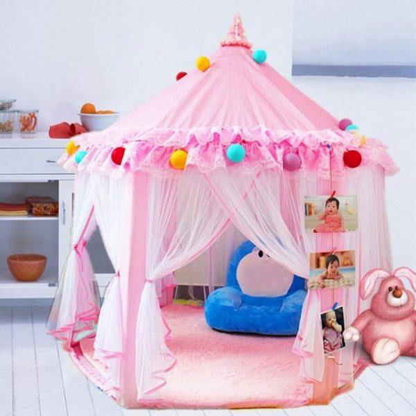 Newbabywish Princess Tent Playhouse