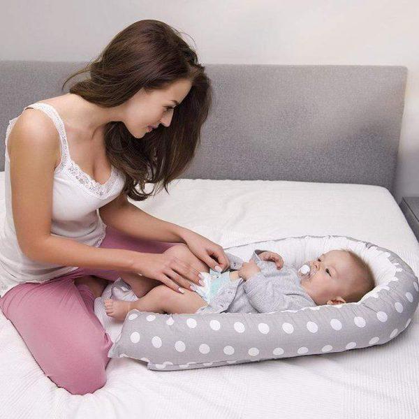 Newbabywish Baby Nest Bed-2