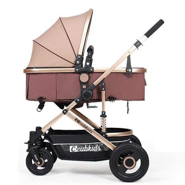 Newbabywish Best Lightweight Baby Stroller Prams Bassinet Stroller