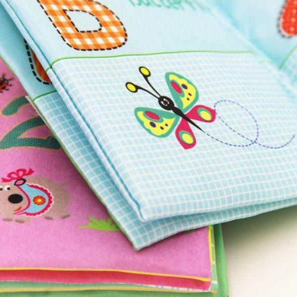 Newbabywish Soft Baby Books