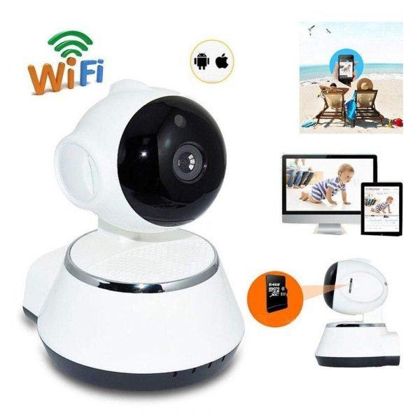 Newbabywish 720P Wireless Baby Monitor Camera Long Distance