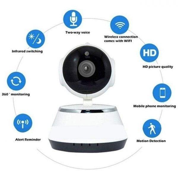 Newbabywish 720P Wireless Baby Monitor Camera