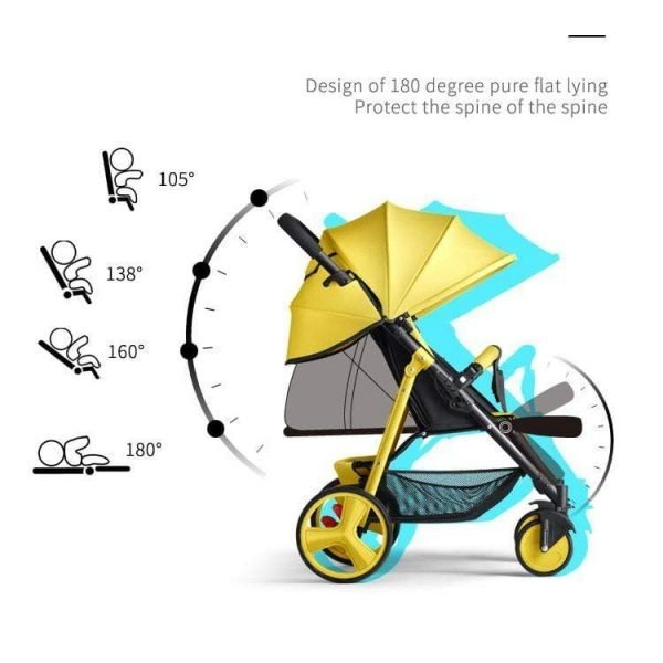 Newbabywish Portable Baby Stroller