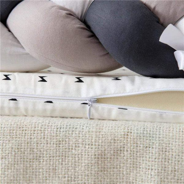 Baby Nest Cotton Bionic Bed-Multicolour-15