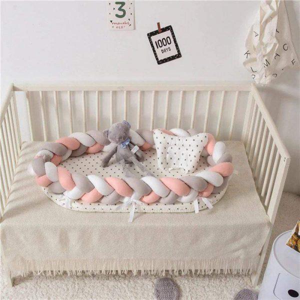 Baby Nest Cotton Bionic Bed-Multicolour-8
