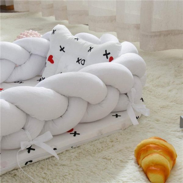 Baby Nest Cotton Bionic Bed-Pure coloer-6