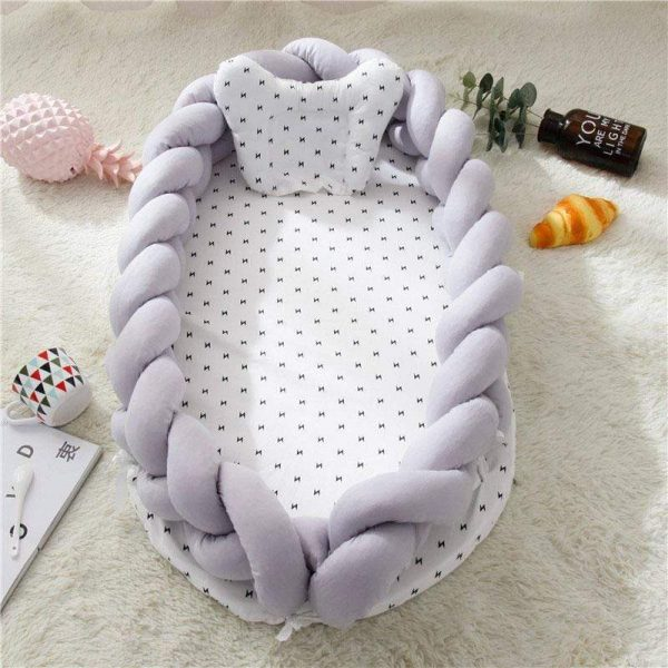 Cotton Braided Baby Nest