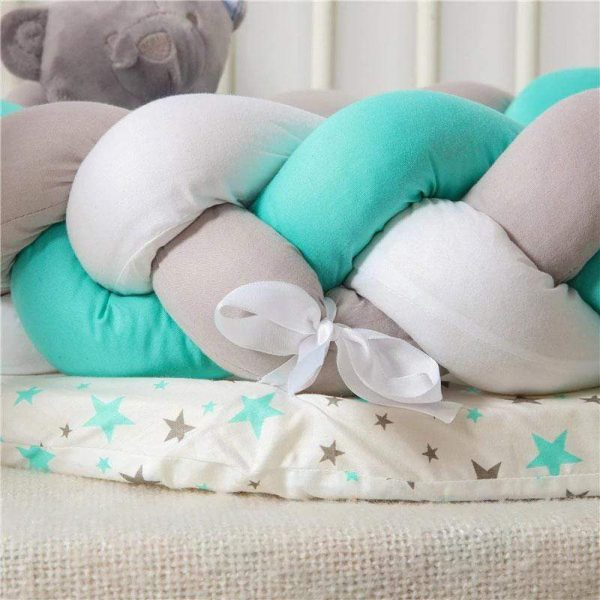 Baby Nest Cotton Bionic Bed-Multicolour-12
