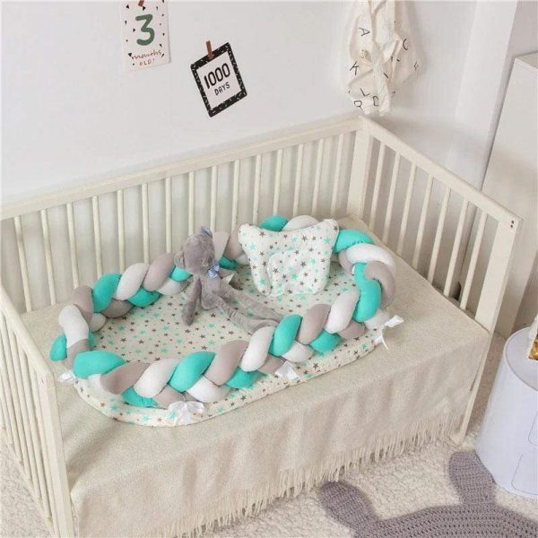 Nest Bed Handmade Braided Baby Lounger