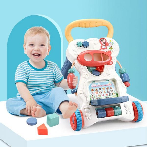 Multifunctional Anti-skid Infant Walker Car-1