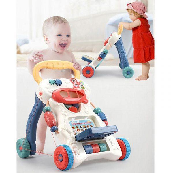 Multifunctional Anti-skid Infant Walker Car