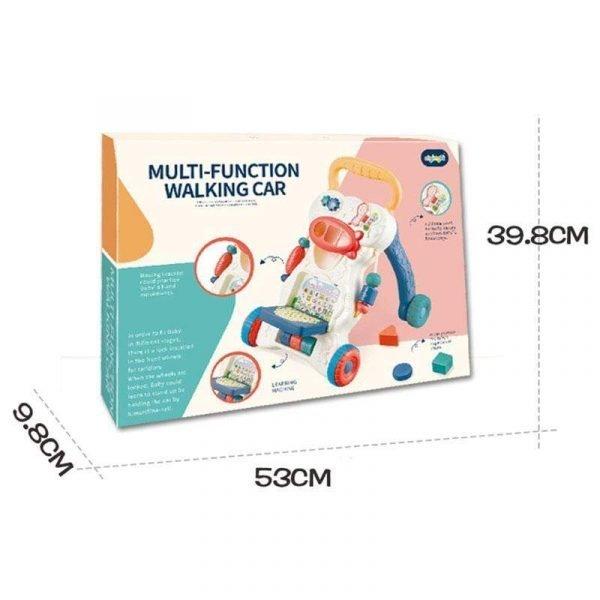 Multifunctional Anti-skid Infant Walker Car-9