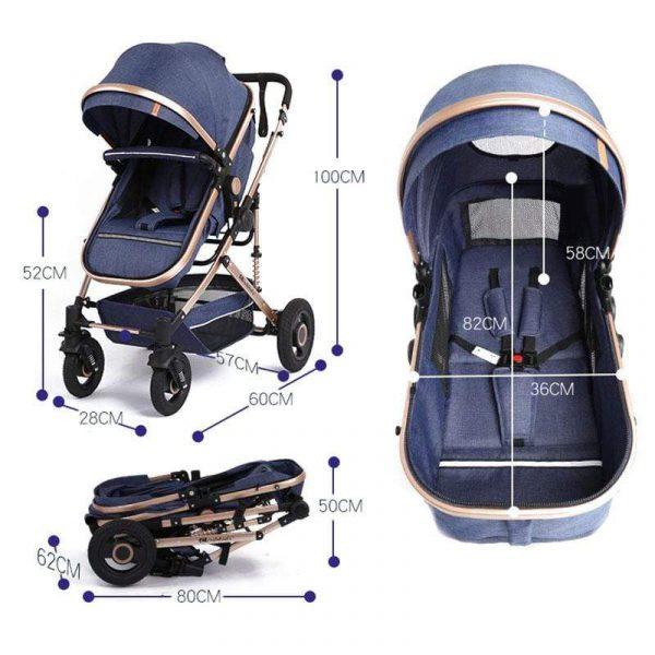 Newbabywish Best Lightweight Baby Stroller Prams