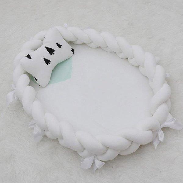 Newborn Braided Elliptical Nest Bed