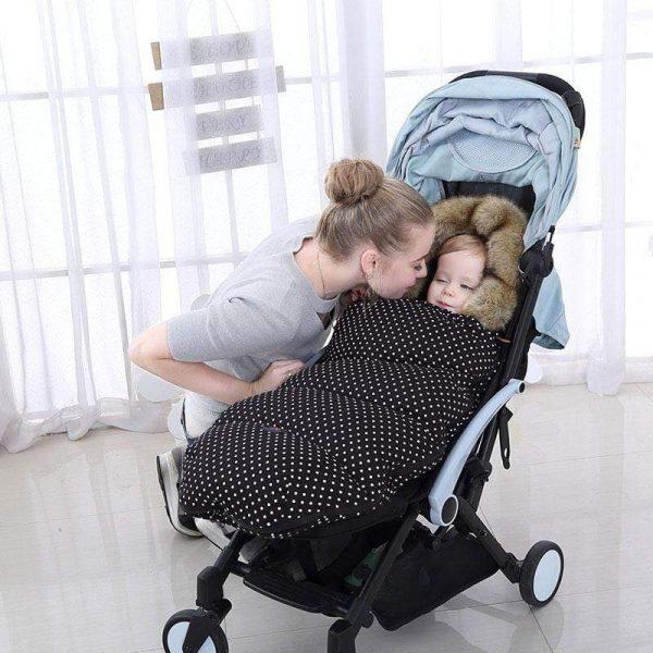 Baby Sleeping Bag Baby Stroller Sleep Sack Baby Footmuff 7