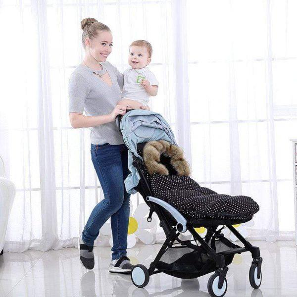 Baby Sleeping Bag Baby Stroller Sleep Sack Baby Footmuff 6