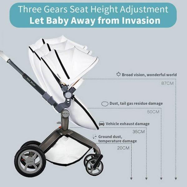 Hot Mom Baby Bassinet Stroller Best Stroller for Newborns and Toddlers