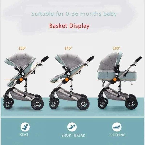 Infant and Toddler Stroller Pram Stroller