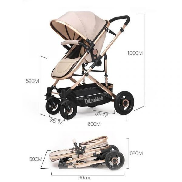 Double Stroller For Infant And Toddler Bassinet Strollers