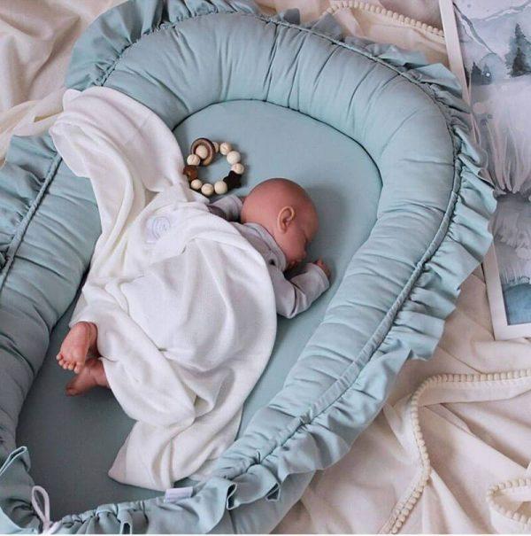 Cute Baby Lounger Snuggle Nest Co Sleeper