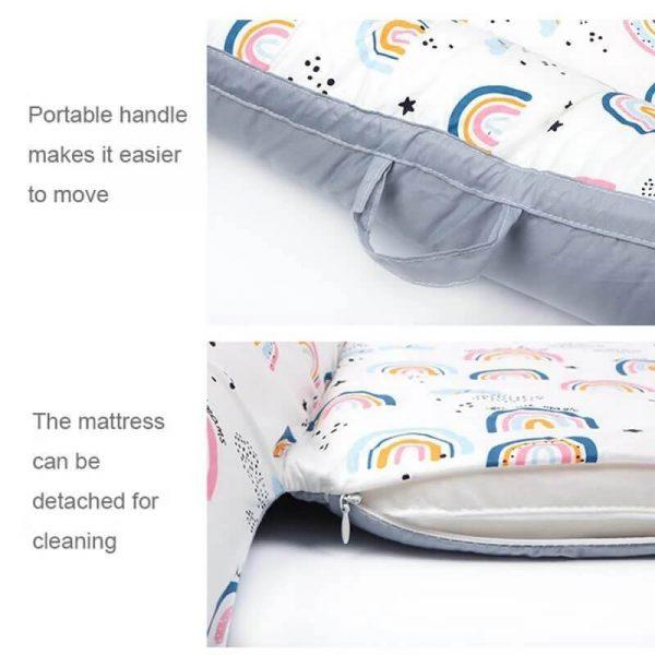 Newbabywish Portable Baby Lounger Snuggle Nest