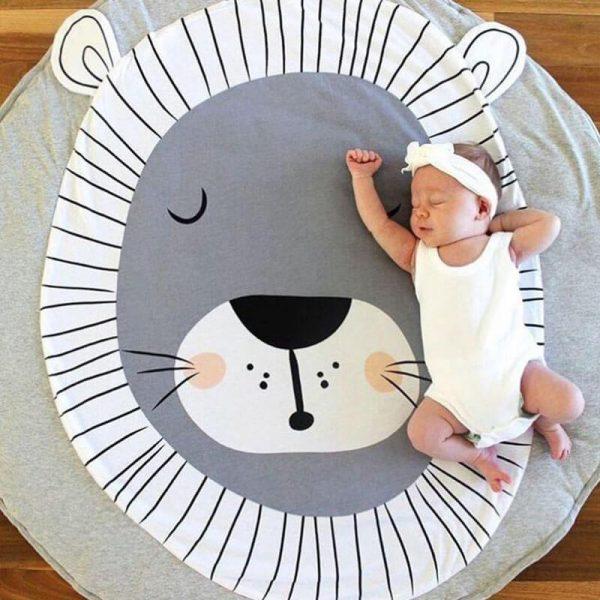 Cute Cotton Baby Crawling Mat and Baby Play Mat