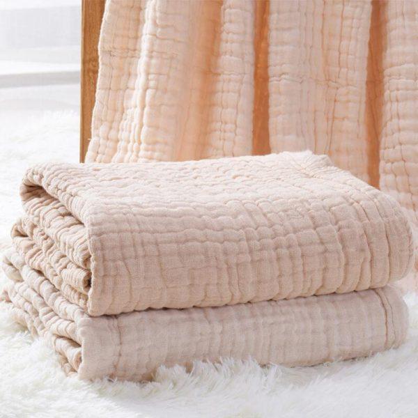 Soft Baby Receiving Blanket Newborn Swaddle Blanket 1 Pcs