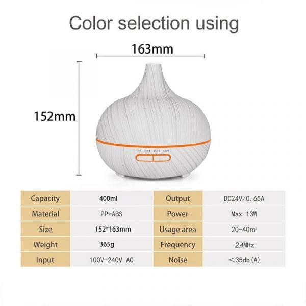 Cool Mist Humidifier for Bedroom Air Diffuser