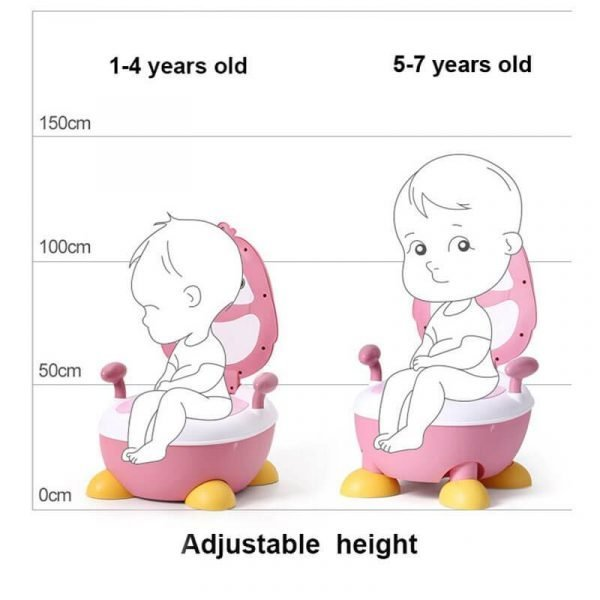 Portable Potty Seat for Boy and Girl Adjustable Kids Toilet Seat
