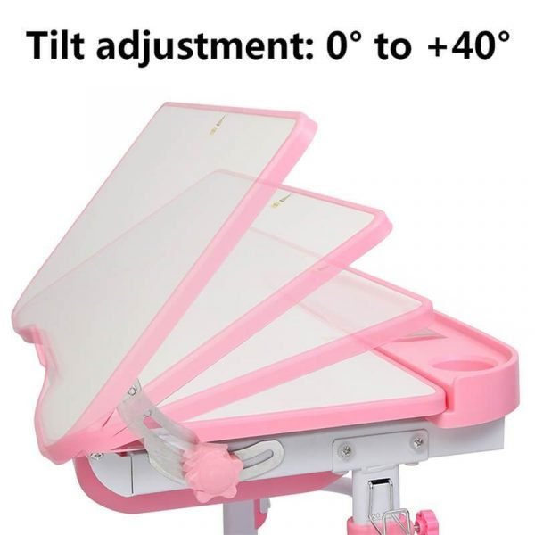 Adjustable Kids Desk and Chair Set Learning Table