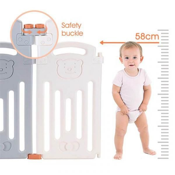 Baby Playpen Activity Centre Safety Play Yard 14+2
