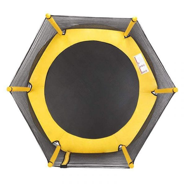 Small Trampoline for Kids Indoor/Outdoor Trampoline with Enclosure