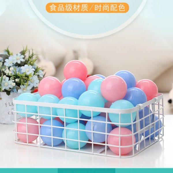 100PCS Colorful Soft Plastic Kids Play Ball Ocean Ball