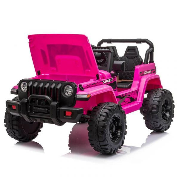 Jeep Ride On Toy 12V Remote Control Ride On Car 2 Seater