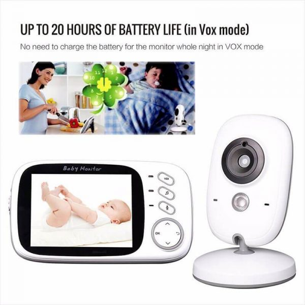 Portable Baby Monitor With Camera Long Range Baby Monitor