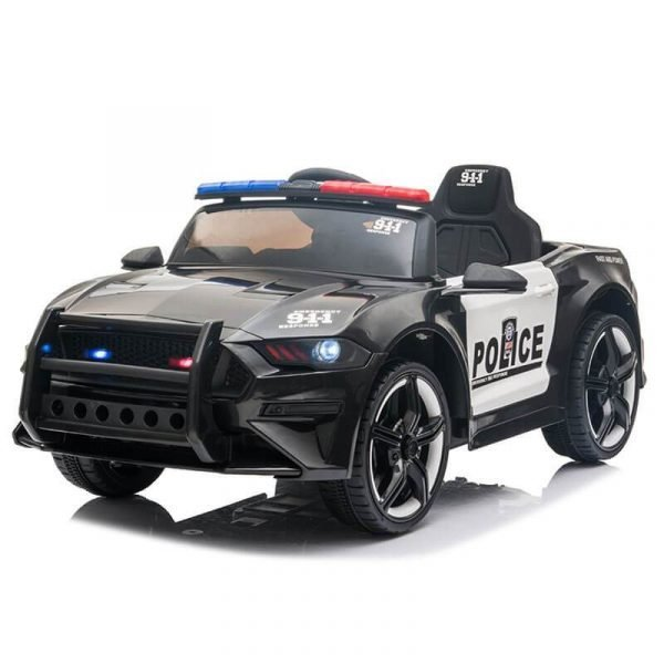 Police Sports Car 12V Remote Control Battery Powered Cars For Kids