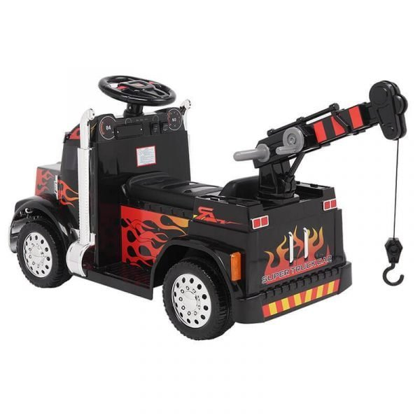 6V Electric Ride On Small Crane With Remote Control