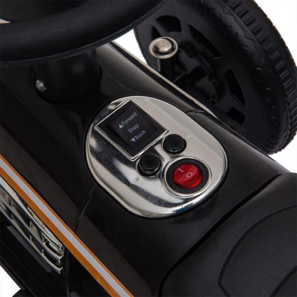 6V Motorized Cars For Kids With LED Lights