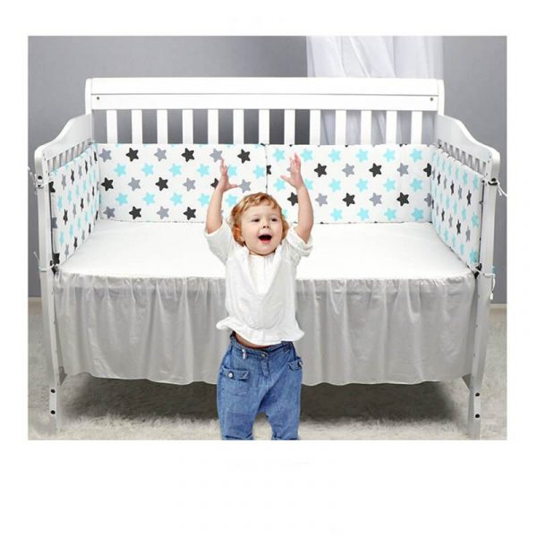 Classic Breathable Mesh Crib Bumper Linner