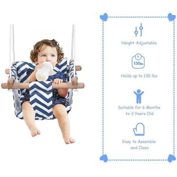 Hanging Swing for Tree Baby Swing Outdoor and Indoor