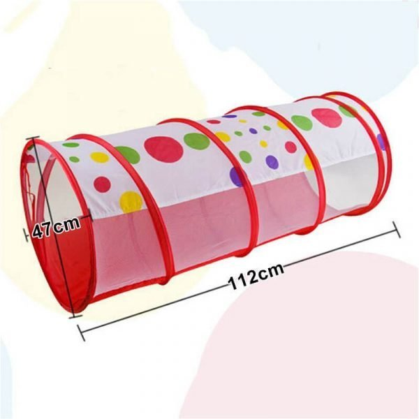 3 In 1 Kids Play Tent With Tunnel