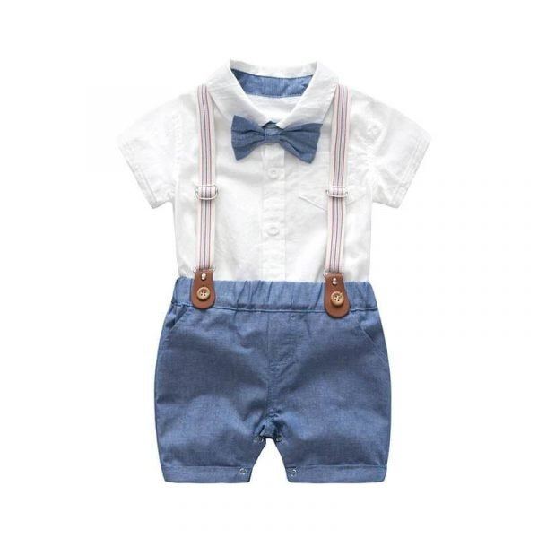 Summer Gentleman Birthday Suits Boy Cute Toddler Suits