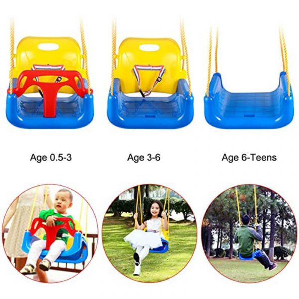 Baby Swing Outdoor Small Swing Set