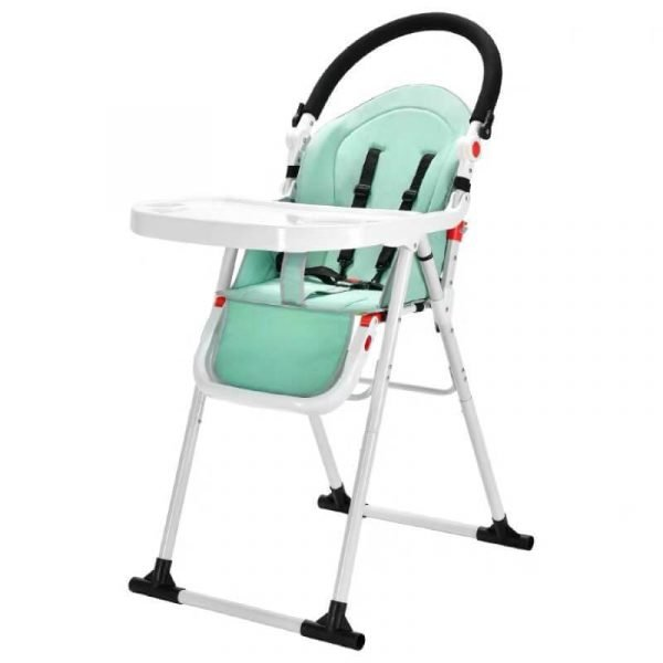2 In 1 Kid High Chair With Baby Stroller Function