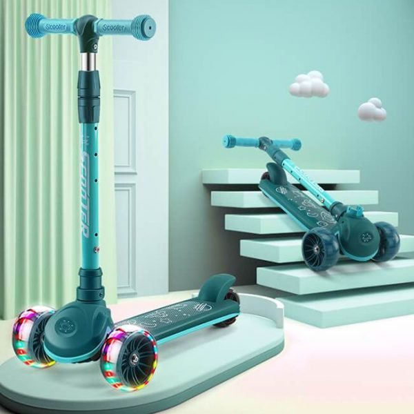 Adjustable Height 3 Wheel Scooter for Kids