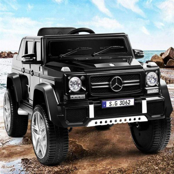 Luxury 12v Ride On Jeep Mercedes Benz Kids Car with Leather Seat